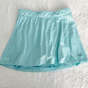 Maks Mint Green Blue Tennis Golf Skort L